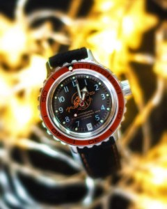 Vostok Amphibia Orange 2