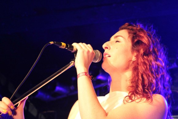 Hannah Georgas performing at the Marquee Ballroom. (Photo: John Sandham)