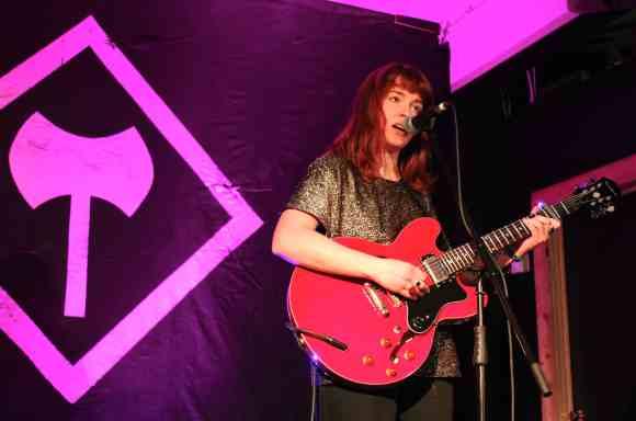 Megan Nash at the Timber Lounge. (Photo: John Sandham)