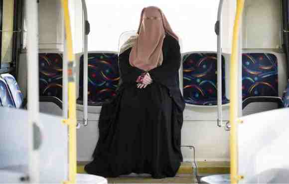 Warda Naili, who first donned a niqab six years ago, said she decided to cover her face out of a desire to practise her faith more authentically and to protect her modesty. (GRAHAM HUGHES / THE CANADIAN PRESS)