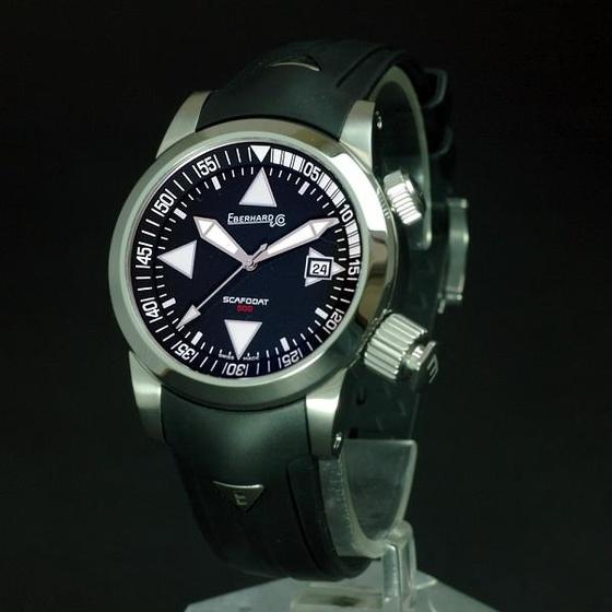 Eberhard Scafodat búváróra javítása - Watchmaker 23999ec87e