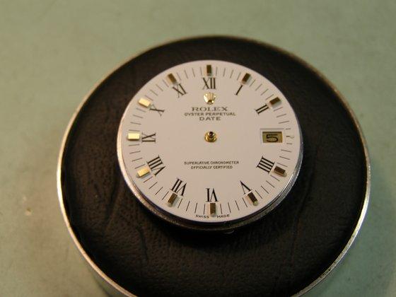 Rolex Date arany acél (cal 1570) teljes szervizelése - Watchmaker 3bbbb99528