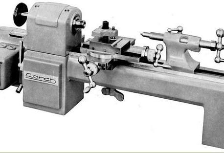 Egy Lorch.Schmidt & Co órás esztergagép születése