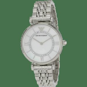 Emporio Armani Women's Retro Silver
