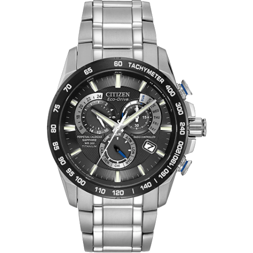 Men's Citizen Eco-Drive Chronograph AT4010-50E