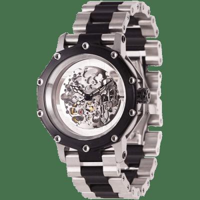 Men's Atlantis Automatic Silver Skeleton (TW579S)