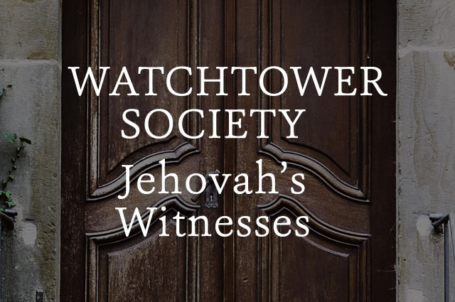 Questions about Jehovah's Witnesses