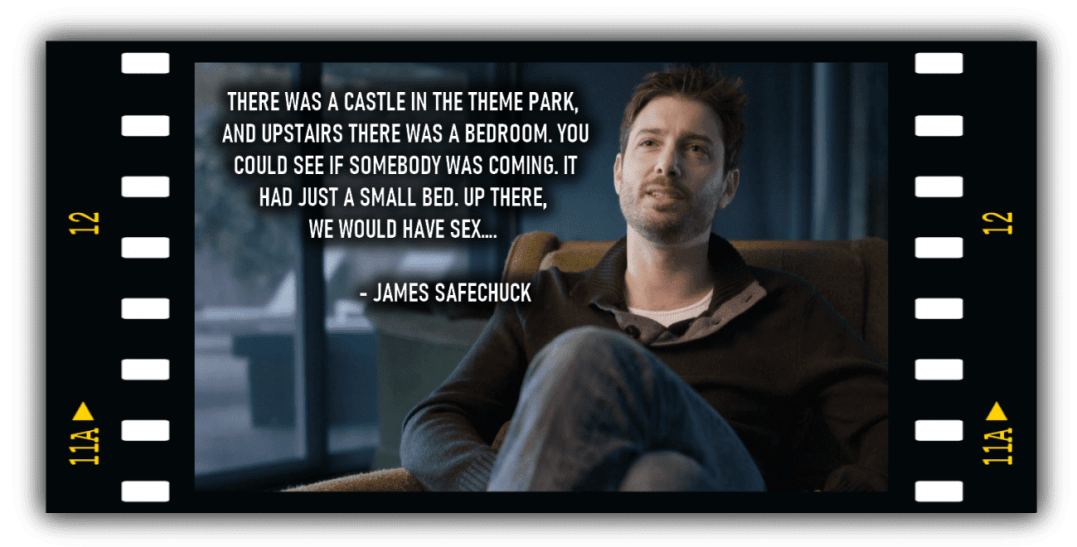 James Safechuck in Leaving Neverland