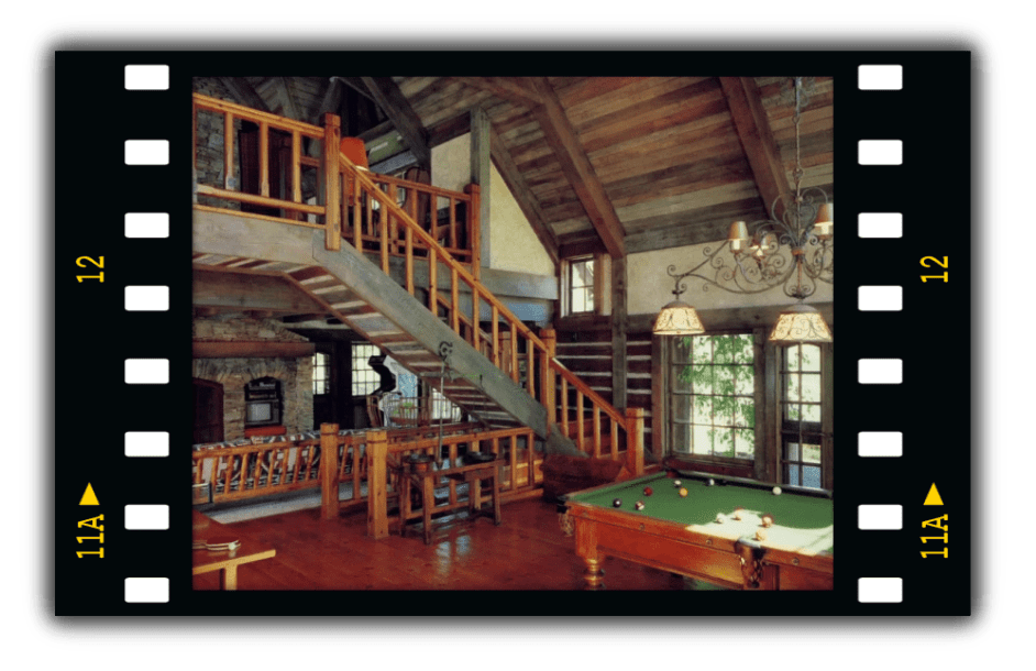 The Game Room at Neverland Ranch