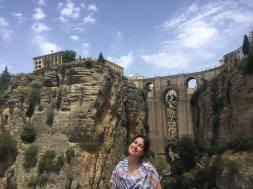 View of bridge in Ronda