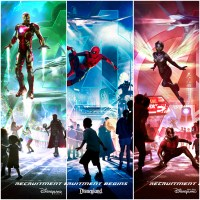 New Avengers Attractions Assembling At Disney Parks