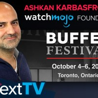 WatchMojo's Ashkan Karbasfrooshan at Buffer Festival 2019