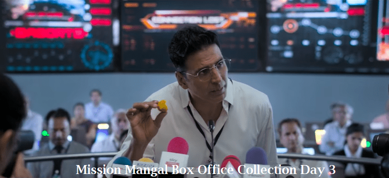 Mission Mangal Box Office Collection Jour 3
