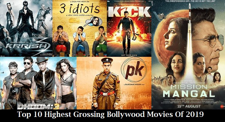 Top 10 Highest Grossing Bollywood Movies Of 2019