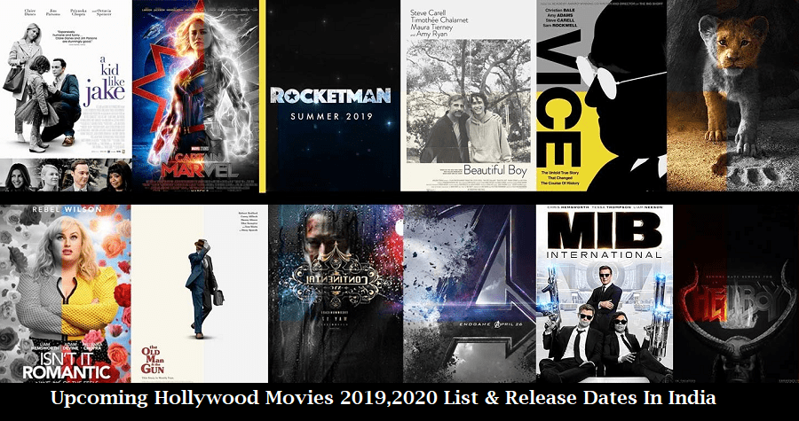 Summer Blockbusters 2020.Upcoming Hollywood Movies 2019 2020 List Release Dates In