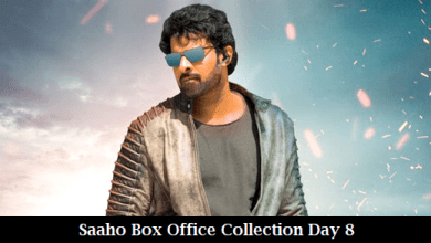 Saaho Box Office Collection Day 8