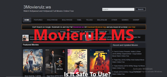 Is It Safe To Use MovieRulz Ms