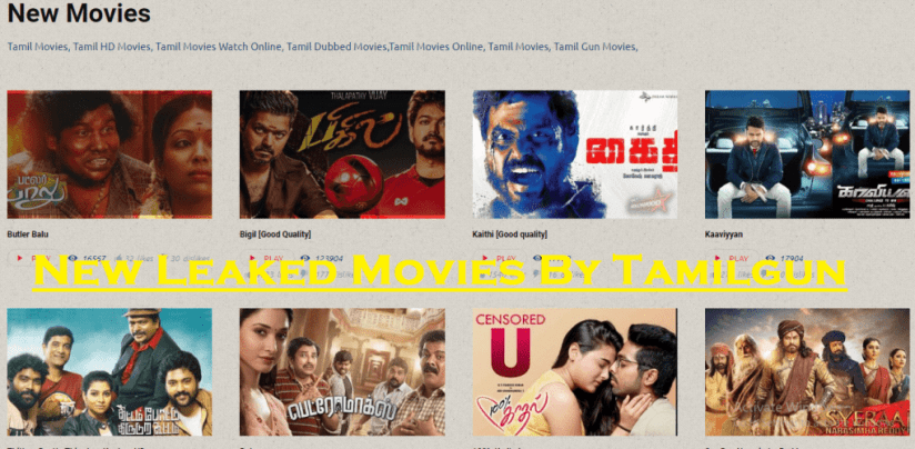 New Leaked Movies By Tamilgun