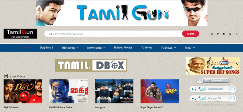 Tamilgun Website