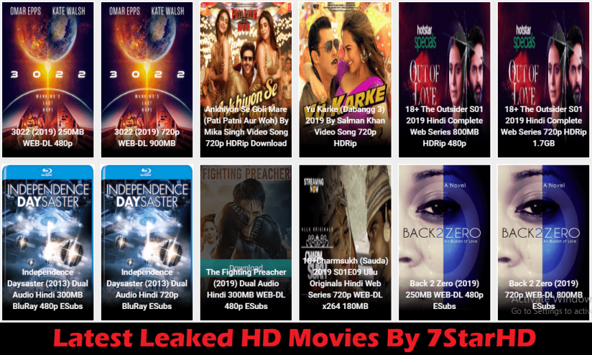 Latest HD Movies Download From 7StarHD