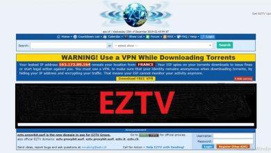 Photo of EZTV – Safe & 100% Working Alternatives, Proxy & Mirror Site List Updated