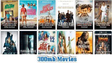Photo of 300mbmovies 2021 – Download Latest Bollywood, Hollywood & Hindi Dubbed Movies