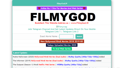 Photo of Filmygod 2021 – Download Latest Bollywood, Hollywood & Hindi Dubbed Movies
