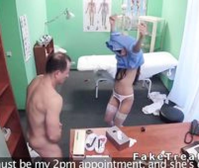 Handsome Doctor Fucks Sexy Nurse In Fake Hospital