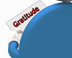 Watchon Reading about Gratitude