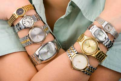 right and left wrist watches