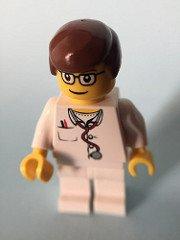 male nurse lego figure