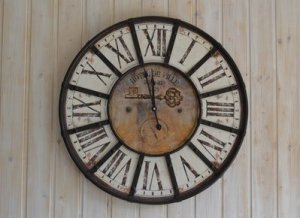 old roman analog clock