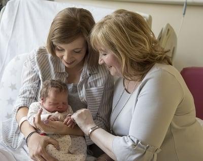 grandmother, daughter, grand-daughter