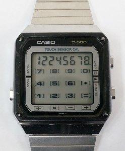Casio TC500 Calculator Watch