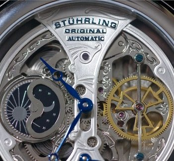 close up of Sturhling watch