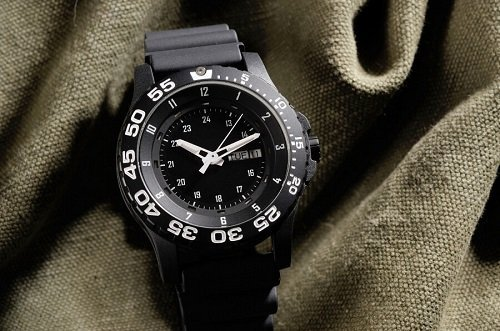 Tactical Watch Simple Black