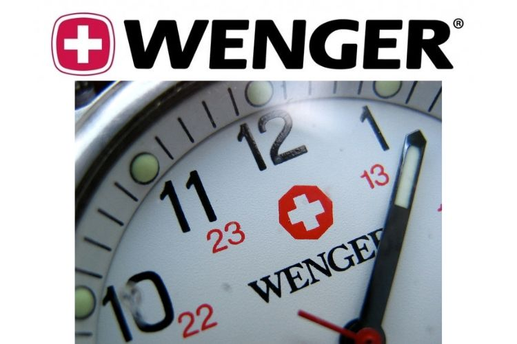 wenger watch and logo
