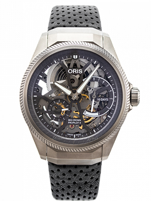 Oris Big Crown Propilot X Perforated Leather Band