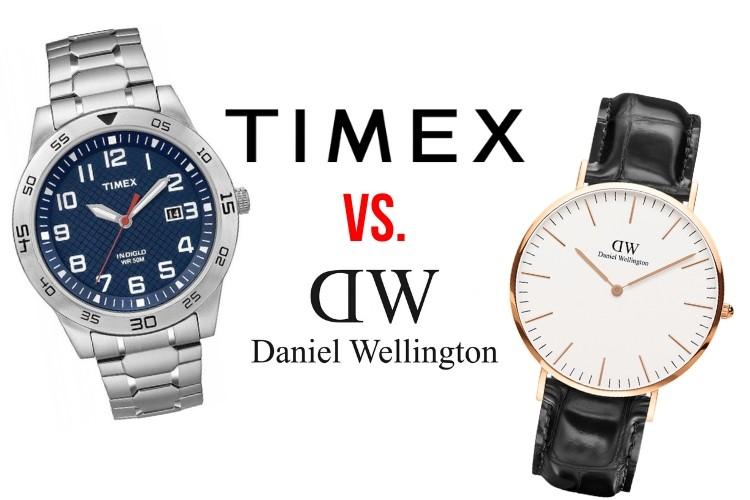 timex vs daniel wellington