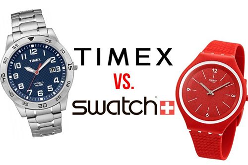 timex vs swatch