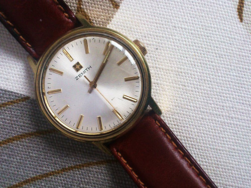 真力时(Zenith)皮革手表