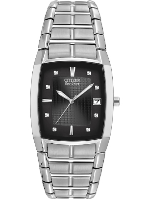 Citizen Eco-Drive Rectangle Analog