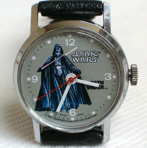 Bradley Time vintage Star Wars watch
