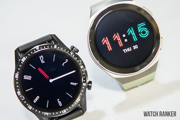 Huawei Watch GT2 vs GT 2e