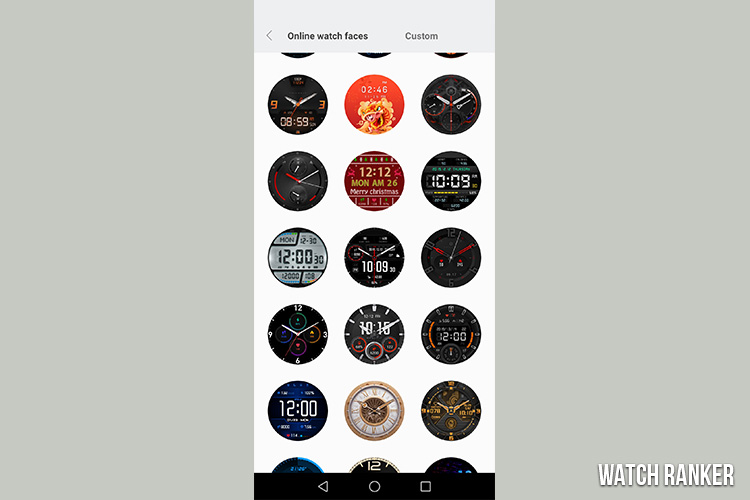 amazfit gtr watch face designs