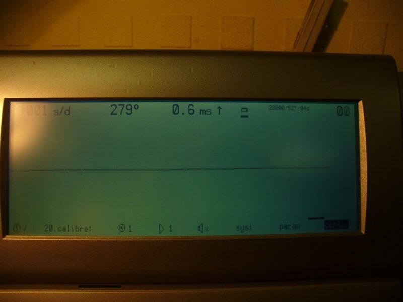 Графічне зображення точності ходу годинника