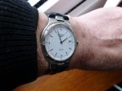 Looks good on the wrist at just under 34 mm diameter.