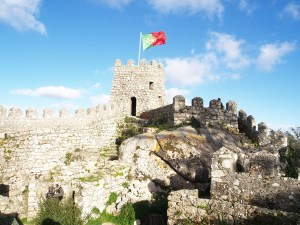 Medieval Watch Tower in Portugal