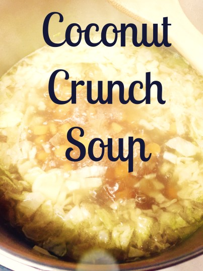 Coconut Crunch Soup