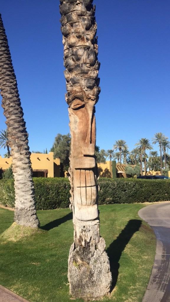 totem pole palm tree
